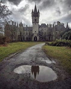 Abandoned Miranda Castle, also known as Noisy Castle in Celles, province of Namur, Belgium #deadlive www.deadlive.co.uk