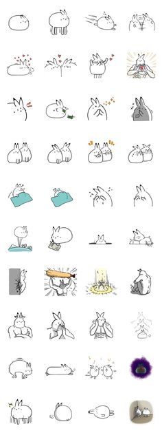 """Sticker of the rabbit, which is similar to """"north pole rabbit""""(Arctic Hare).level-up, power-up!"""