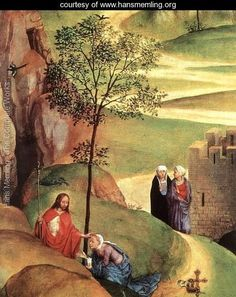 Advent and Triumph of Christ (detail-2) 1480 - Hans Memling - www.hansmemling.org