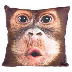 Orangutan 18x18 Pillow, $35, now featured on Fab.