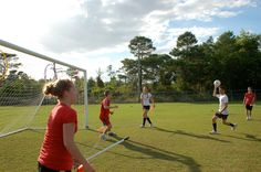 #Students playing a #game of #Quidditch @Lynn University!