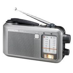 Sangean Multi-Powered FM / AM Radio Receiver