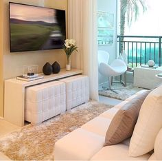 [New] The Best Home Decor (with Pictures) These are the 10 best home decor today. According to home decor experts, the 10 all-time best home decor. Narrow Living Room, Small Living Room Design, Living Room Decor Cozy, Living Room Designs, Tv Room Small, Small Apartment Decorating, Decorating Small Spaces, Apartment Design, Apartment Living