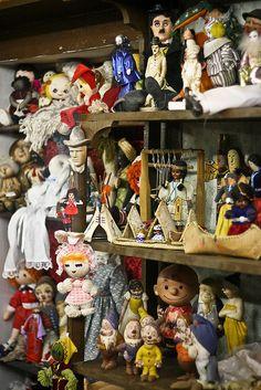 Creepy Old Toys by ChrisButlerOnline, via Flickr
