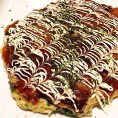 Homemade okonomiyaki with pork belly#okonomiyaki #homecooking #porkbelly #japanesefood  急にお好み焼きが食べたくなる今日この頃#お好み焼き #ニューヨーク#家ごはん by mutsu251