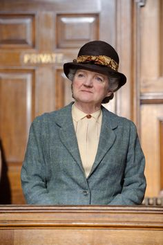 Agatha Christie's Miss Marple as portrayed by Julia McKenzie