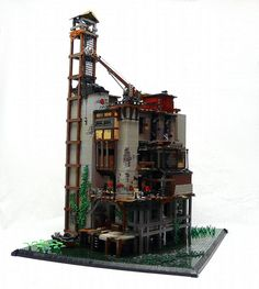 Viktor's Office... It's a really neat MOC with a TON of detail work, very interesting setting and I just wish there was more of a back-story to this intriguing design.
