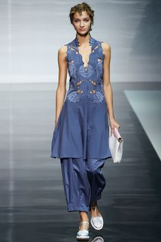 Emporio Armani Spring 2014 Ready-to-Wear Collection Photos - Vogue