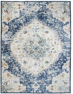 Amazon.com: ReaLife Machine Washable Rug - Stain Resistant, Non-Shed - Eco-Friendly, Non-Slip, Family & Pet Friendly - Made from Premium Recycled Fibers - Persian Distressed - Light Blue, 3' x 5': Furniture & Decor Machine Washable Rugs, Easy Gifts, Furniture Decor, Persian, Recycling, Eco Friendly, Shed, Area Rugs, Pets