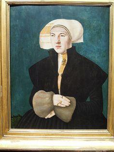 Portrait of Katharina von Holzhausen, nee Breder von Hohenstein, Hans Abel (1523) | Flickr - Photo Sharing!
