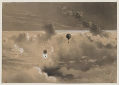 Albert Tissandier, Ascension du 26 septembre 1876, 700mètres  via Library of Congress