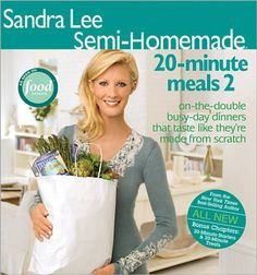 Sandra Lee Semi-Homemade 20-Minute Meals 2 by Sandra Lee,http://www.amazon.com/dp/0696238160/ref=cm_sw_r_pi_dp_NnFQsb14EJZBANTK