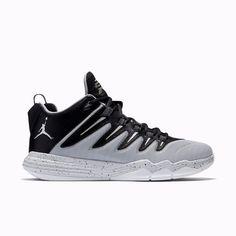 00f8e566a582 New Men s Jordan CP3.IX Shoes Black Wolf Grey Pure Platinum Silver