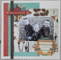 Live-Dream-Create Creations Scrapbook, Live, Create, Fall, Projects, Cards, Decor, Autumn, Log Projects