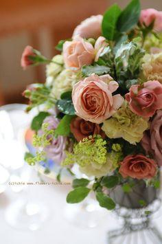 新郎新婦様からのメール シェ松尾天王洲倶楽部様の装花 : 一会 ウエディングの花
