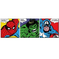 Marvel Faces Canvas: Image 1