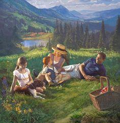 By Oil Portrait Artist Scott Wallace Johnston Oil Portrait, Portrait Artist, Painter, Portraiture, Oil Painters, Painting, Family, Art, Portrait Art