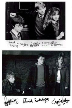How is baby rupert's autograph so beautiful!?!?!