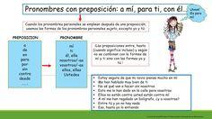 Pronombres con preposiciones