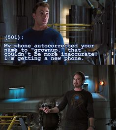 Texts from the Avengers - Submitted by firestorm172001