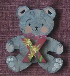 Xtra special floral bear. by ArtZeeboze on Etsy