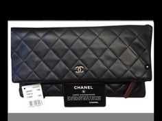 Chanel Lamb Skin Black Clutch. Get the trendiest Clutch of the season! The Chanel Lamb Skin Black Clutch is a top 10 member favorite on Tradesy. Save on yours before they are sold out!