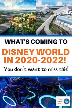 Find out what's new and what's coming next at Disney World, including all the new rides, attractions, hotels and more for Disney World Secrets, Disney World News, Disney World Florida, Disney World Parks, Disney World Tips And Tricks, Disney Worlds, Disney World Vacation Planning, Walt Disney World Vacations, Disney Planning