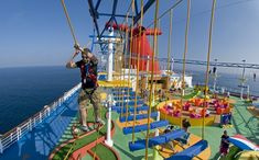 Norwegian Sky Cruise Ship | ... -ever ropes course at sea. Photo courtesy of Carnival Cruise Lines