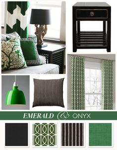 Add a dash of emerald green into your decor this spring!