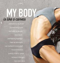 my body is like a canvas...