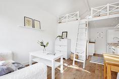 Scandinavian interior design. guesthouse / studio