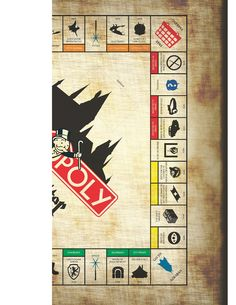 Design in Tech Ed: How to Make Harry Potter Monopoly. MATERIALS
