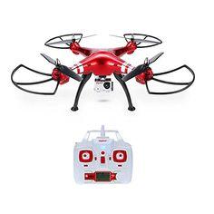 GoolRC Syma X8HG Drone con Camara HD 8.0MP RC Quadcoptr con Funciones de Modo Sin Cabeza Mantenimiento de Altura - http://www.midronepro.com/producto/goolrc-syma-x8hg-drone-con-camara-hd-8-0mp-rc-quadcoptr-con-funciones-de-modo-sin-cabeza-mantenimiento-de-altura/