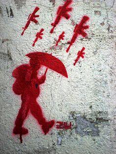 Bogota Stencil Art by LoisInWonderland, via Flickr