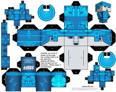 Blog_Paper_Toy_papertoy_Tron_Cubeecraft_template_preview