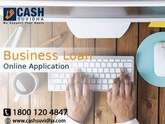 Cash Suvidha - Apply Online for Business Loan in Delhi, India. #ApplyOnline #BusinessLoan #LoanforSME #Delhi #India
