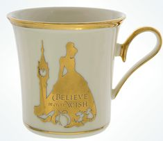 Disney Elegance Is Alive in These Art of Disney Mugs By Lenox