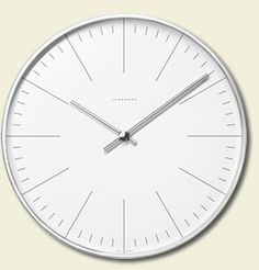 164. Wall clock, Junghans, Germany - Max Bill, 1956