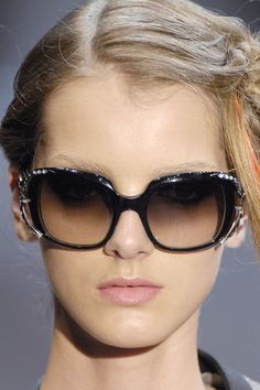 Armani Prive, fabulous sunglasses.