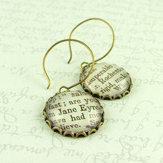 Jane Eyre earrings...