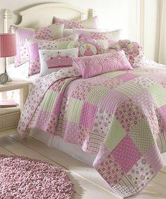 Loving this Princess Patch Quilt Set on #zulily! #zulilyfinds