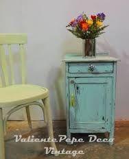 Resultado de imagen para mesas patinadas vintage
