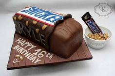 Snickers anyone?.. - Cake by Karolina Gergelova