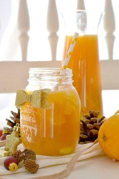 Rezept: Orangenbowle.