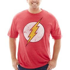 DC Comics® Flash™ Graphic Tee - Big & Tall  found at @JCPenney