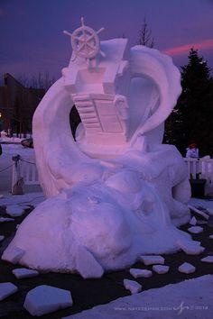 Image detail for -Breckenridge, Colorado, Co, Breck, Snow Sculptures, Sculpture, block ...