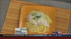 Heavenly Chicken #recipe from WLUK FOX 11 Good Day Wisconsin Cooking with Amy Hanten. #recipes #video