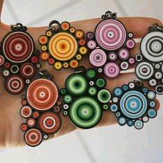 paper quilling - inspiration