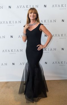 Jane Seymour visits The Avakian Suite during The 68th Annual Cannes Film Festival at Carlton Hotel on May 14, 2015 in Cannes, France.