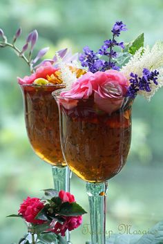 beautiful presentation of Summer Iced Tea